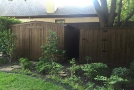 Shed After Stain