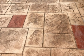 Stamped and Stained Concrete