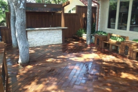 Pecan Ready Seal Deck Stain