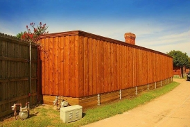 Natural Cedar Ready Seal - New Cedar Fence