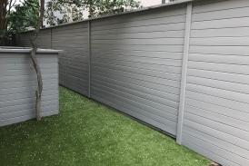 Solid Gray Fence Stain