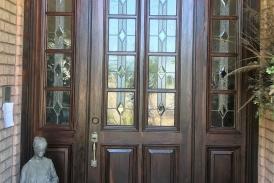 Front Door Staining