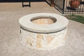 Austin Stone Fire Pit
