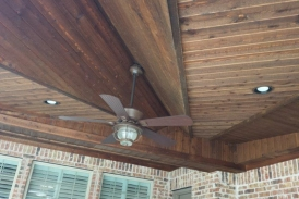 Patio Cover with Tongue and Groove Ceiling
