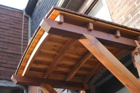 Smooth Cedar Awning