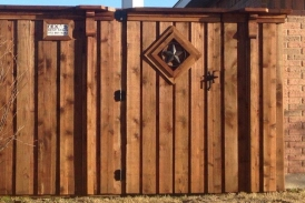 7' Custom Cedar Gate