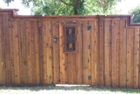 7' Custom Cedar Gate(1)
