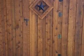 8' Custom Cedar Gate