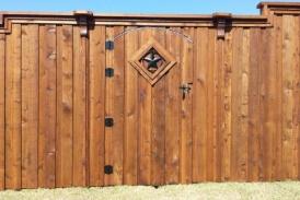 8' Custom Cedar Gate(1)